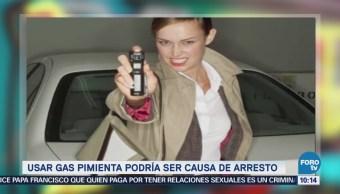 Extra Extra: Usar gas pimienta podría ser causa de arresto