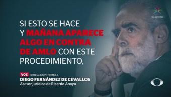 Fernández de Ceballos asegura que Fox sabía sobre 'felonía' contra AMLO
