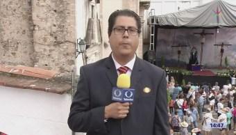 Finaliza segunda procesión del Viernes Santo en Taxco