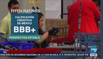 Fitch Ratings Confirma Calificación Crediticia México