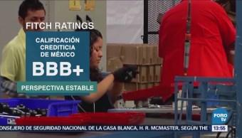 Fitch Ratings Confirma Calificación Crediticia México