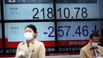 Fortaleza del yen arrastra a la Bolsa de Tokio