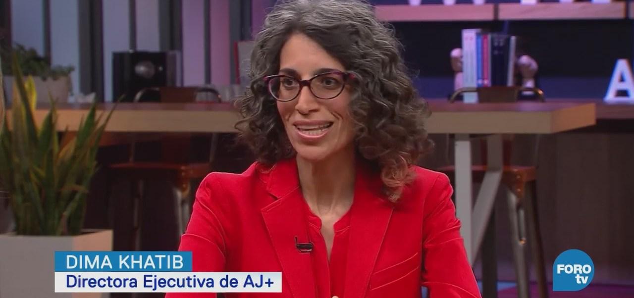 Periodismo Digital Nuevas Narrativas Dima Khatib, Directora Ejecutiva De Aj+ En Español