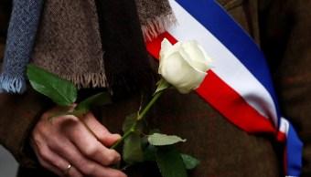 Franceses realizan la 'caminata blanca'; exigen esclarecer el asesinato de Mireille Knoll
