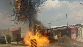 Explosión de gas deja tres lesionados en Léon, Guanajuato