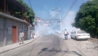 Inicia campaña de fumigación en el puerto de Acapulco