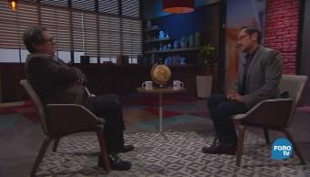 Genaro Lozano entrevista a Andrés Ramírez Silva