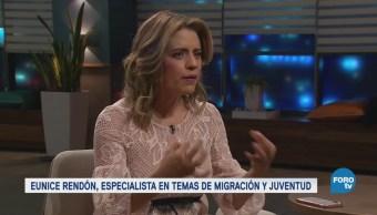 Genaro Lozano entrevista a Eunice Rendón