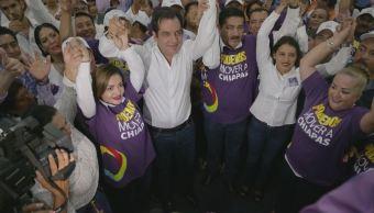 PRI y el Frente registran a sus candidatos a la gubernatura de Chiapas
