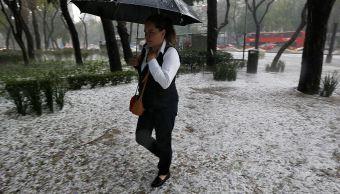 Frente frío 38 provocará tormentas con granizo en el oriente, centro y sureste de México. (AP)