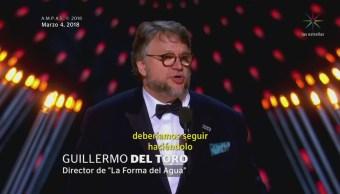 Guillermo del Toro triunfa en los Premios Oscar