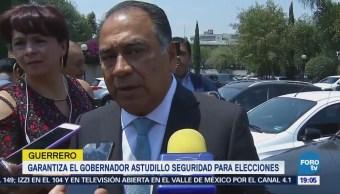 Habrá Seguridad Elecciones Guerrero Héctor Astudillo