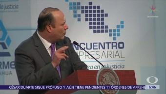 Hay 10 órdenes de aprehensión vigentes en contra de César Duarte