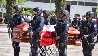 Homenaje a comandante asesinado por secuestradores