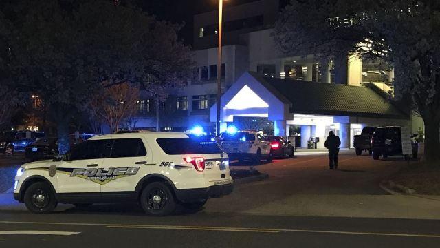 balacera hospital alabama deja muerto y herido
