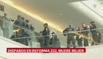 Identifican al sujeto que disparó a unaIdentifican al sujeto que disparó a una mujer en Reforma 222 mujer en Reforma 222