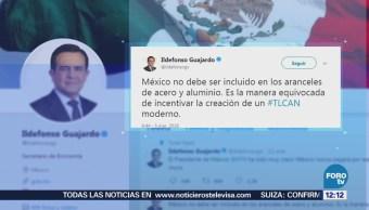 Ildefonso Guajardo responde a Donald Trump sobre aranceles