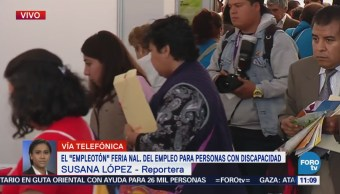 Inauguran el 'Empleotón 2018' en Tlalnepantla, Estado de México