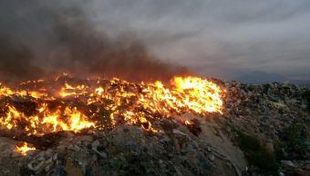 Controlan en 90% incendio en vertedero de Tala, Jalisco