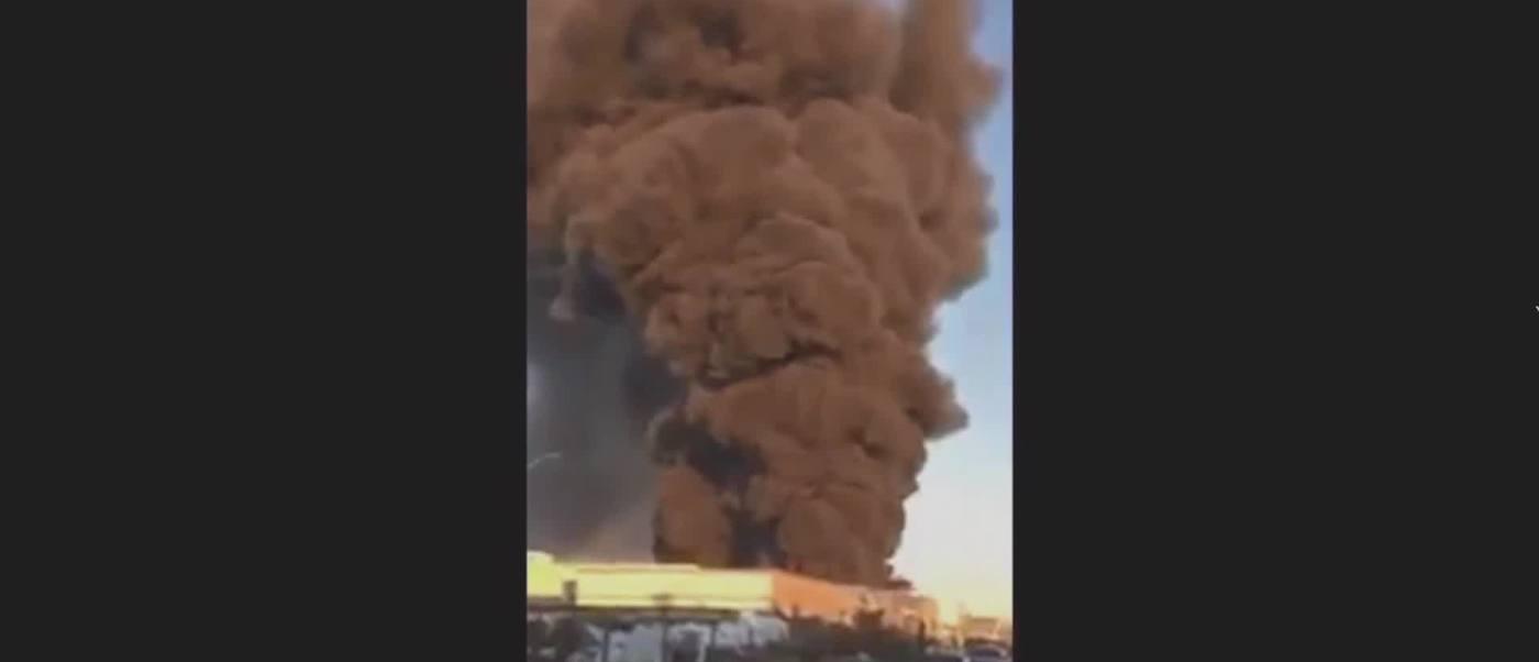 Incendio Consume Fábrica Petroquímicos Argentina
