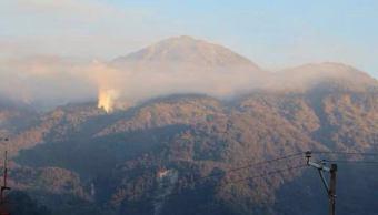 Sofocan incendio en reserva ecológica en límites de Chiapas y Guatemala