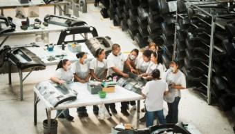 INEGI: Crece el personal ocupado en industria manufacturera
