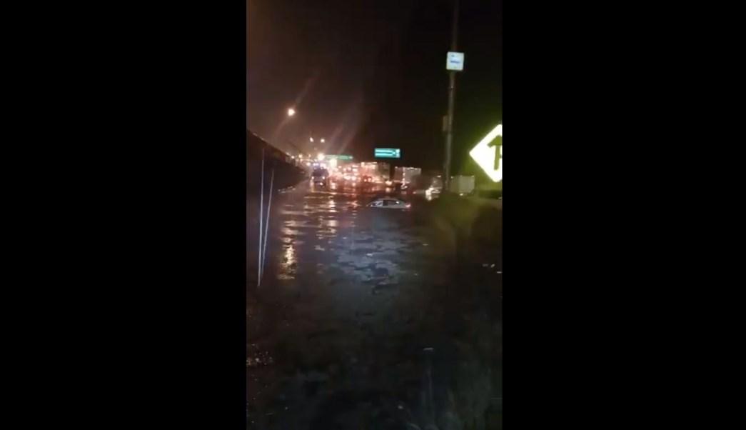 lluvia y granizo inundan mexico toluca