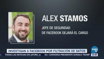 Investigan Facebook Filtración Datos Autoridades De Estados Unidos