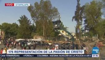 Iztapalapa será escenario de 40 episodios de la Pasión de Cristo