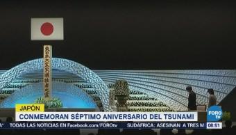 Japón Conmemora Séptimo Aniversario Tsunami