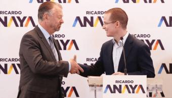 Jorge Castañeda, coordinador estratégico de la campaña de Ricardo Anaya