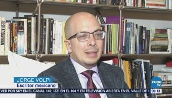 Jorge Volpi recibe el Premio Alfaguara 2018 por 'Una Novela Criminal'
