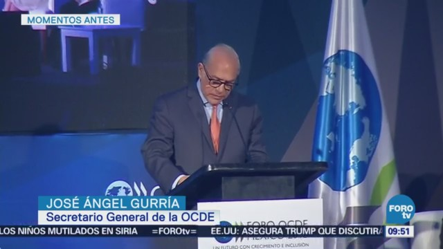 José Ángel Gurría destaca los avances de las reformas estructurales en México