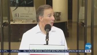 José Antonio Meade participa en la Convención Bancaria
