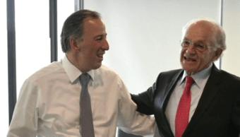 Meade dialoga sobre reconstrucción e inseguridad con empresario