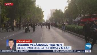 Marchan Reforma Normalistas Desaparecidos Ayotzinapa