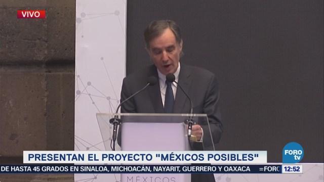 """José Woldenberg participa en el proyecto """"Méxicos Posibles"""""""