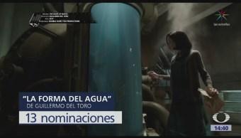Forma Agua Obtiene 13 Nominaciones Premio Oscar