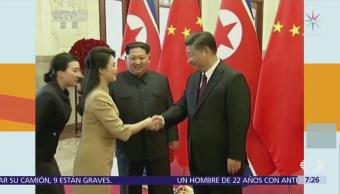 Kim Jong-un visitó China y se reunió con Xi Jinping