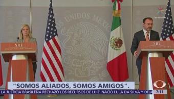 Kirstjen Nielsen visita México y se reúne con el canciller Videgaray
