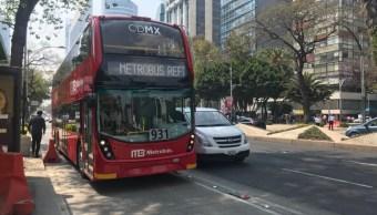 l7 del metrobus inicia operaciones sobre reforma