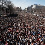 La Marcha por Nuestras Vidas convocó a miles de personas