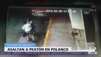 Captan Asalto Peatón Polanco, Ciudad De México