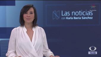 Las Noticias, con Karla Iberia: Programa del 9 de marzo de 2018