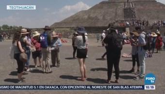 Llegan más de 30 mil visitantes a Teotihuacán