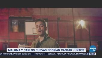 Maluma y Carlos Cuevas podrían cantar juntos