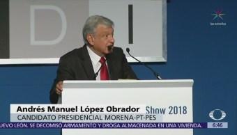 López Obrador asegura que si gana la Presidencia, no buscará la reelección