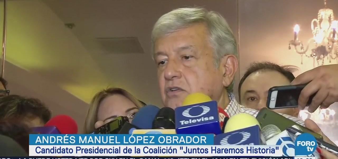 López Obrador habla de las fuerzas armadas en Sonora