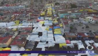 Los pasajes secretos de Tepito, refugio del crimen organizado