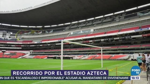 Lugares para el fin: Recorrido por el Estadio Azteca